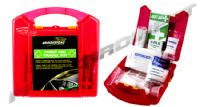 FIRST AID TRAVEL KIT LARGE ICE EMERGENCY W/ STORAGE CONTAINER CAR MOTORHOME HOME